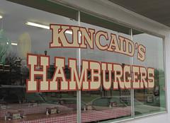 street city urban sign nikon paint painted frenchfries hamburgers storefront nikkor fortworth ordinance campbowie nx kincaids startelegram 3570mmf28d capturenx nx2 kincaidshamburgers d700 codecompliance