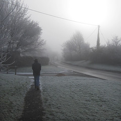 frosty lunchtime walk