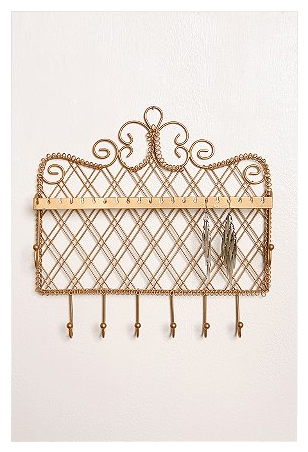 Urban Outfitters Apartment-Filigree Jewelry Hook