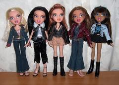 Bratz Secret Date Girl Dolls (Bratz UK) Tags: jade yasmin bratz cloe nevra meygan