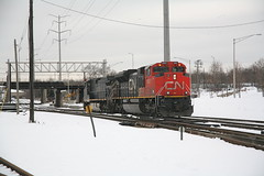 BCOL 4651 and CN 8862 - La Grange, IL (themats1) Tags: cn ge cnr generalelectric cnrail bcr bcrail ihb canadiannationalrailway indianaharborbelt 944cw bcol britishcolumbiarailway lagrangeil