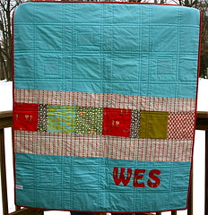 Wes's Quilt Back