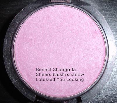 Benefit Shangri la Sheers I lotused you looking