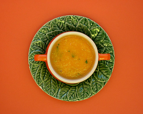 Carrot, Ginger & Honey Soup