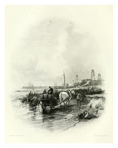 003-Yarmouth-The ports, harbours, watering-places, and picturesque scenery of Great Britain 1840