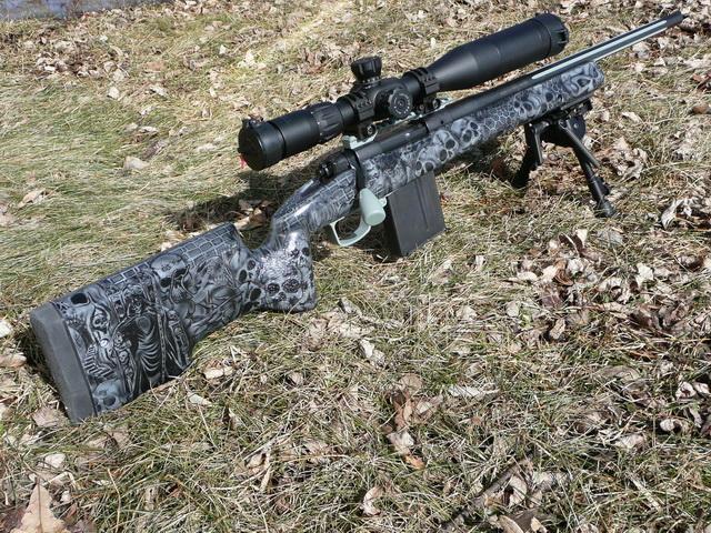 Sniper Skulls Camo Sniper Rifle Camo Paint