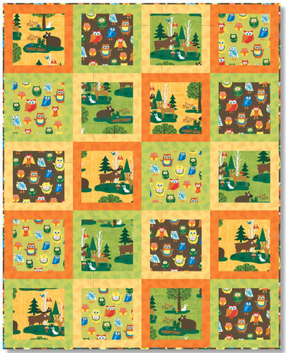 Woodland Friends II Free Pattern