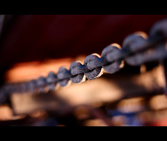 unchain me (Frank Wuestefeld) Tags: light canon eos rebel 50mm licht dof bokeh chain lena creativecommons m7 kette 5018 400d thingsseries frankwuestefeld germanyseries