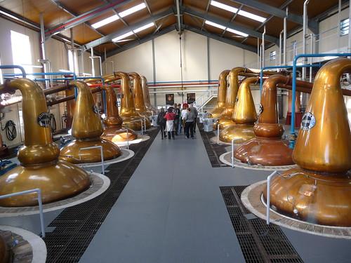 Stills at Glenfiddich Distillery