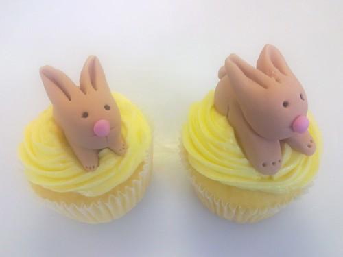 Planet Cake Cupcake Bootcamp Rabbit Cupcakes