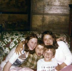 Image titled Arthurs family, Hamilton Castle, 1979.