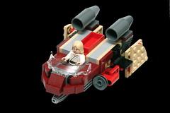 Meh Remix (pasukaru76) Tags: starwars lego remix speeder alternate moc sigma105mm 8092 set8092