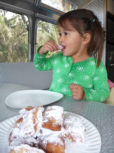 ava loves beignets.