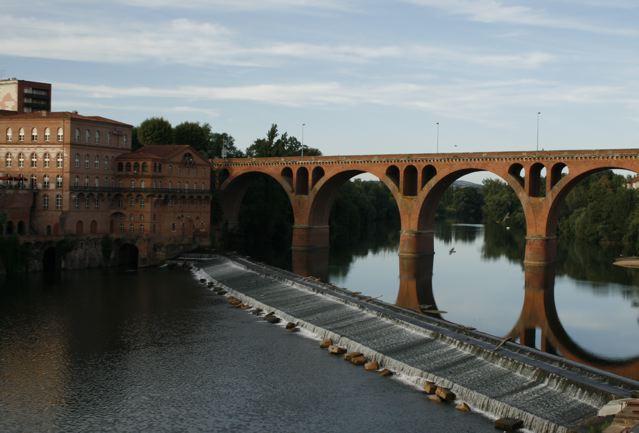 Albì, veduta dal ponte