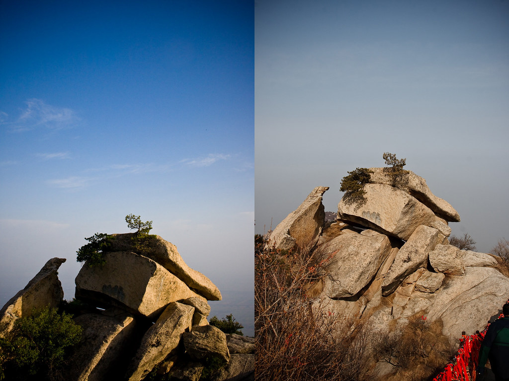 Hua Shan 华山 Before and After
