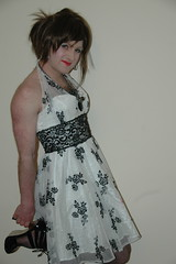 roisin 035 (pink bitch2010) Tags: pink cute sexy public legs photos girly dressup crossdressing sissy bitch transvestite heels forced transexual crossdress feminization submissive memme forcedfeminization sissification