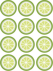 Lime Marmalade Labels