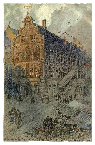 006-Mulhouse ayuntamiento-Alsace-Lorraine-1918- Edwards George Wharton