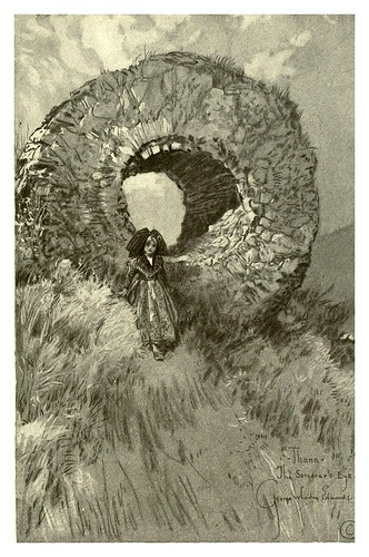 014- Thann-El ojo del brujo-Alsace-Lorraine-1918- Edwards George Wharton