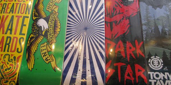 NEW skateboards at Proletariat!