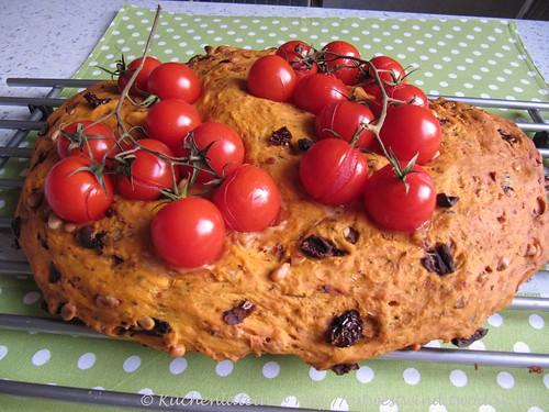 Focaccia mit Tomaten 002