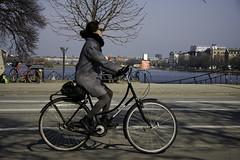 Classic Grey (Mikael Colville-Andersen) Tags: street bike bicycle copenhagen bici chic kopenhagen fahrrad vélo copenhague streetstyle cyclechic velopassioncc