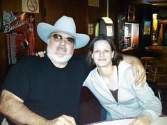 Jen and Steve in BarAngus