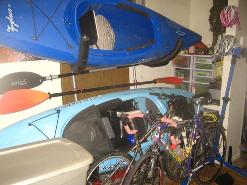 Gravity Kayak Rack