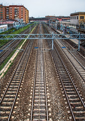 Italian railways - Ferrovie italiane / Roma, Italia