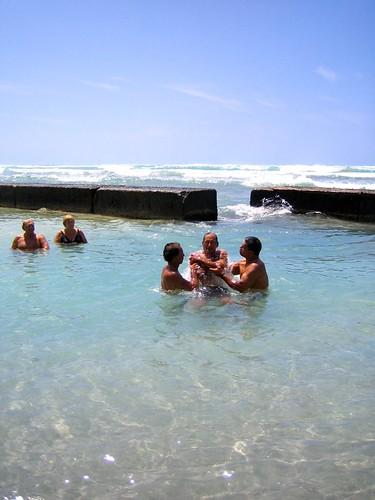 Baptism of Paul Jones