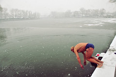winter swimming at Houhai (ShanLuPhoto) Tags: swim beijing houhai wniter