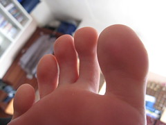 toes (wishfoot88) Tags: feet socks foot toes toe slippers ticklish