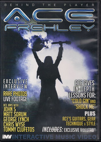 2010 - Ace Frehley: Behind The Player DVD (Cover Art)