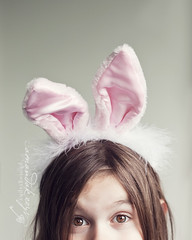 Happy Easter! ({amanda}) Tags: bunny easter fun 50mm kid mykid easter2010 amandakeeysphotogrpahy