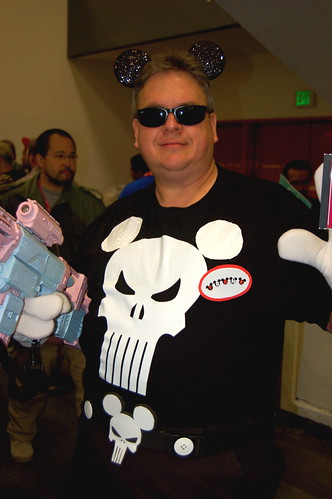 WonderCon 2010: Punisher Mouse