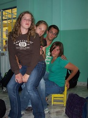 Iglesia Evangelica Anabautista Fraternidad Cristiana -- Allison Sherer, Katie Jantzen, Brent Anders, and Sara Beachy