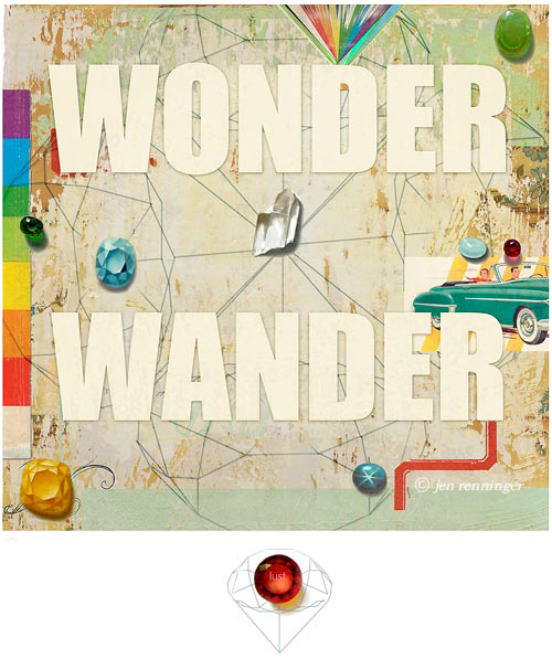 wonder wander lust