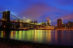 Brooklyn Bridge @ Night (cvrestan) Tags: newyorkskyline lowermanhattan cityofnewyork brooklynbridgenight newyorkcitynight pentaxda21mm pentaxk20d yaayatimonaninay