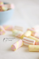 I had a dream last night, I was eating a ten pound of marshmallow. I woke up this morning and the pillow was gone (Tommy Cooper) (dhmig) Tags: food 50mm nikon nikond50 marshmallows cadies softcolours beyondbokeh dhmig