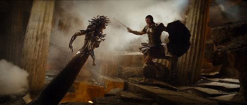 Sam Worthington goes through the motions in the exciting-in-spite-of-itself 'Clash of the Titans'.