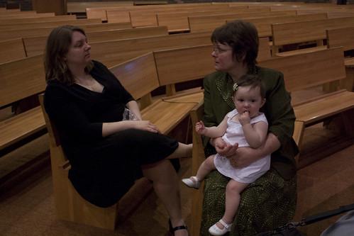 Karyn, Mom and Hannie