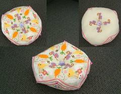 Spring Biscornou from Barbara Ana design