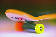 ~ Tech Deck Skateboard ~ (Komatoes) Tags: cute closeup tech bokeh small deck tiny kawaii skateboard kawai dcr250 raynox