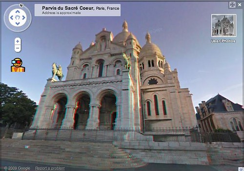 Google Street Views 3D