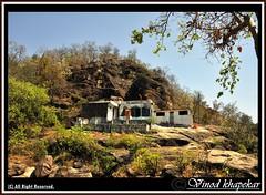 Saalbardi Tample.. (Vinod Khapekar) Tags: sky rock landscape nikon flickr tample vr nagpur 18200mm d90 nikor thebestofday naturereflaction saalbardi
