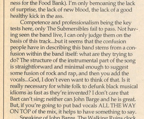 """a confusion within the band itself"""