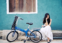 Miffy & bike (*miniyork*) Tags: leica bike fuji miffy proplusii