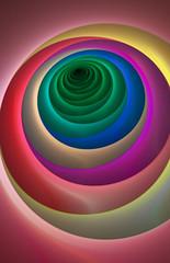 LooneyTunes Rainbow Circles
