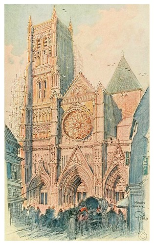 002- Catedral de Meaux-Vanished halls and cathedrals of France 1917- Edwards George Wharton