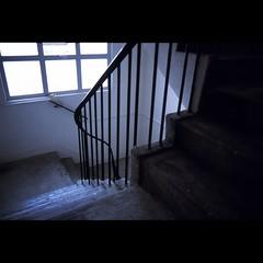 Stairway (winsonli) Tags: stair 28mm contax provia f28 distagon rdpiii 159mm